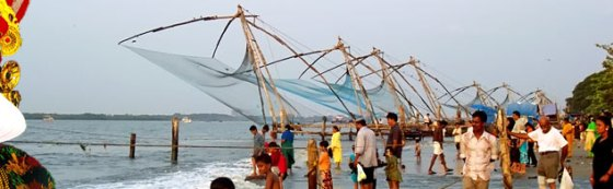 chinees fishing nets cochin